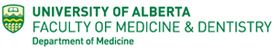 University of Alberta Faculty of Medicine Logo